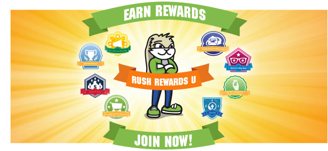 Rush Rewards U Loyalty Program