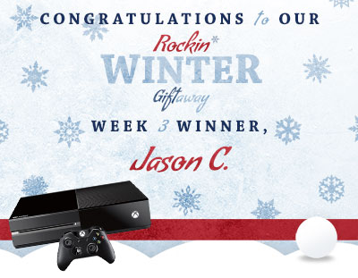 Congratulations to Jason C., our week 3 winner!