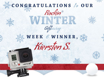 Congratulations to Kiersten S., our week 6 winner!
