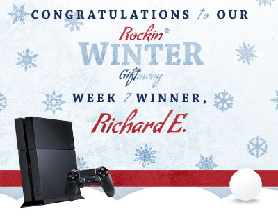 Congratulations to Richard E., our week 7 winner!